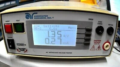Associated Research Hypot Iii Dielectricac Withstand Voltage Tester Free Ship