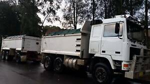 Tipper Truck and Super Dog Volvo F12 Canterbury Canterbury Area Preview