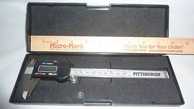 Pittsburgh 6 Digital Caliper - Stainless Steel In Original Case
