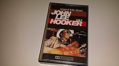 JOHN LEE HOOKER - VOL. 1 - INTERNATIONAL JOKER 3783 - CASSETTE TAPE ITALY IMPORT
