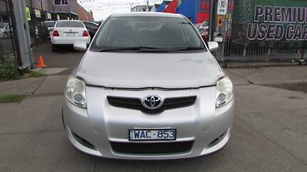 2007 Toyota Corolla Hatchback conquest d/away no more to pay