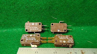 4 Singer Micro Switch 770-126-1 15 Amp 12 Hp 125 250 Vac Nos