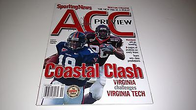 Virginia Tech Hokies Mike Imoh Signed 2005 Sporting News Acc Preview Magazine
