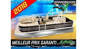 2018 Legend Boats Ponton Bayshore Bar Mercury 25 ELPT Bateau pêc