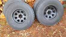Desert hawk a/t tyres and rims Woori Yallock Yarra Ranges Preview
