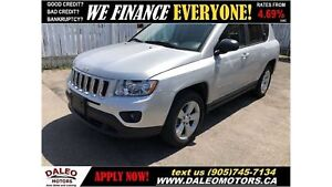 2011 Jeep Compass Sport/North| ALL WHEEL DRIVE