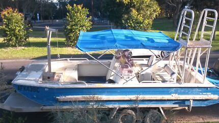 YAMBA PRO PUNT COMMERCIAL WORK VESSEL FOR CHARTER Kincumber South Gosford Area Preview
