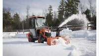 Snow blowing Smiths Falls