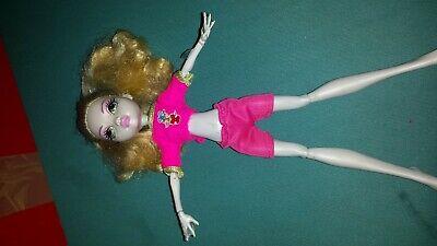 Barbie Monster High Puppe Lagoona Blue  Basic - Monster High Lagoona