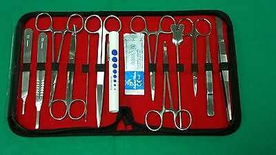 58 Pc Minor Surgery Dissection Dissecting Student Kit Surgical Instruments
