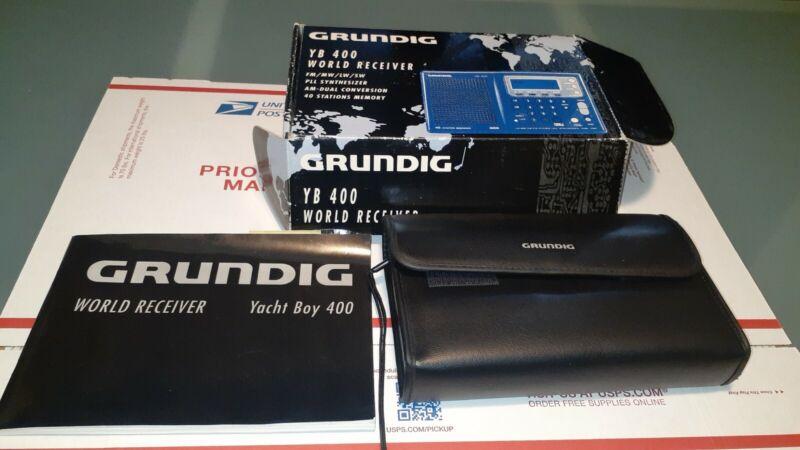 GRUNDIG YB 400 World Receiver FM/MW/LW/SW - In Original Box