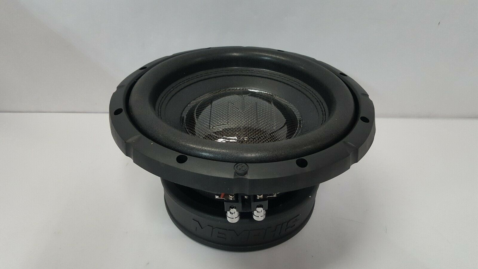 "MEMPHIS SRX1044 10/"" SUB 400W DUAL 4-OHM SUBWOOFER BASS SPEAKER CAR AUDIO NEW"