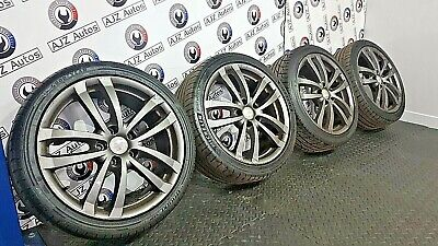 "SEAT LEON MK2 1P1 FR CUPRA 2006-2013 SET OF 18 "" INCH K1 BTCC ALLOY WHEELS RONAL"