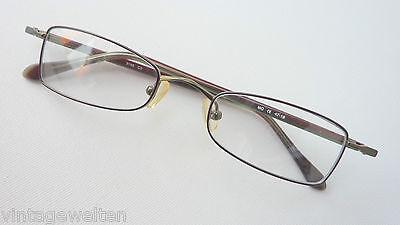 Moda Optica Gafas de Metal con Acetatbügeln Pequeño Cristal segunda mano  Embacar hacia Spain