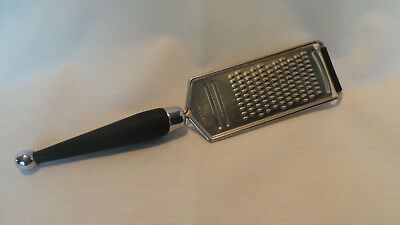 Hand Held Grater Ginger, Cheese, Carrots, Lemon Zest Flat Stainless Steel Copco