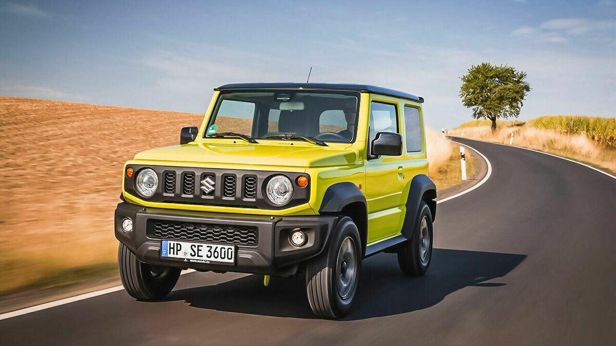 2020 Suzuki Jimny Speed Test