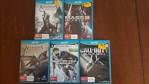 Wii U games $10 each or 5 for $40 Box Hill Whitehorse Area Preview