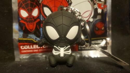Disney Marvel Black Symbiote Spider-Man Collectors Figural Keyring Monogram