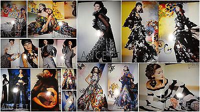 Lancetti vintage fashion clippings lot 1993 Vogue Italia model ads 80s 90s