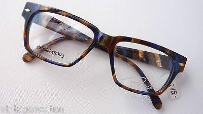Farbige Kunststoffbrille Nerdgestell Brillenfassung 52-17 eckig Herren Grösse M