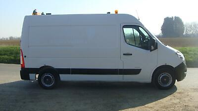 62 REG VAUXHALL MOVANO 35 2.3 MWB RIONED DIESEL JETTER JETTING VAN PAC AIRCON
