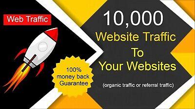 10000 Real High Quality Organic Website Traffic 100 Real Web Traffic Seo