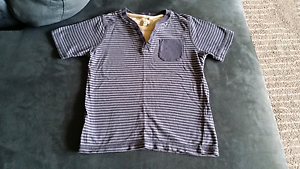 Size 5 TU Blue stripey pocket t-shirt. Hallett Cove Marion Area Preview