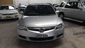 2007 Honda Civic VTi-L 1.8L 4 Cylinder AUTO, LOW KMS Waratah Newcastle Area Preview