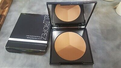 ST TROPEZ 3-IN-1 BRONZING POWDER FOR FACE AND BODY.SCULPT.BRONZE.HIGHLIGHT.GENUI