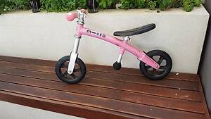 Pink Micro balance bike Albert Park Port Phillip Preview