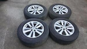 1 set of 4 Nissan Xtrail Tyres Pallara Brisbane South West Preview