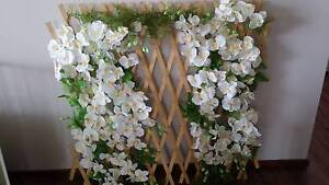 Artificial Wedding Flower Trellis for Hire Green Valley Liverpool Area Preview