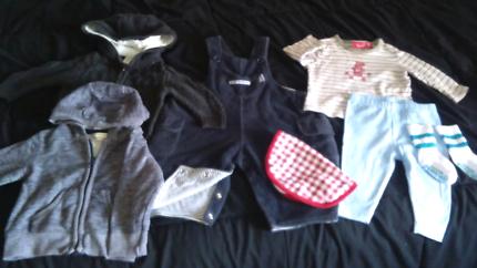 Baby boy 00 clothes