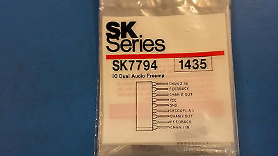 (1 PC) SK7794 IC DUAL AUDIO PREAMP - Ic Dual Audio Preamp