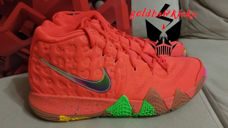 e9bbdedcb88d Nike kyrie 4 lucky charms BV0428 600 bright crimson mc Cereal Pack irving  boston