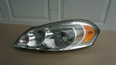 09 10 11 12 13 CHEVROLET IMPALA FRONT LEFT DRIVERS SIDE HEADLIGHT OEM 2009-2013