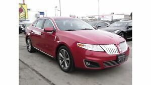 2009 Lincoln MKS 3.7L V6|AWD|NAVIGATION|LEATHER|PANO-ROOF
