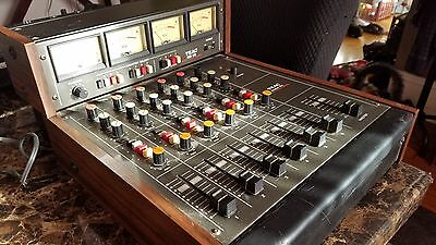 TEAC Model 2A Audio Mixer with MB-20 Bridge Meter Tested Guaranteed Analog