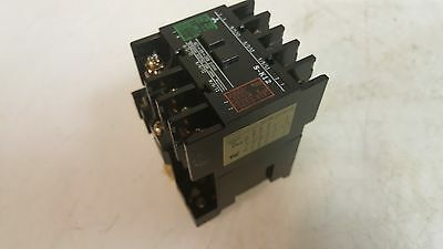 Mitsubishi Magnetic Contactor, TYPE S-K12, 200V Coil, Used, Warranty