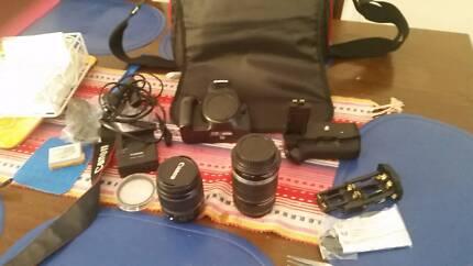 Canon 550D T2i DSLR Camera w⁄ 18-55mm & 55-250mm Twin Lens Kit Mackay 4740 Mackay City Preview