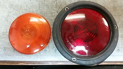 Signal-Stat Red Tail Light and Extra Amber Lens 9029