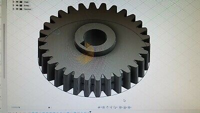 Upgrade Quiet Mini Milling Machine Drive Gear. Central Machinery Grizzly Etc