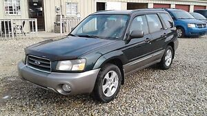 ** 2004 SUBARU FORESTER AWD ** 6 MONTH WARRANTY INCLUDED **