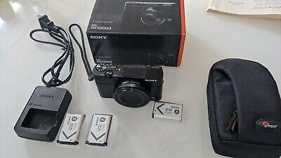 Sony DSC-RX100 III 20.1 MP Compact Digital Camera , great condition! Mk3