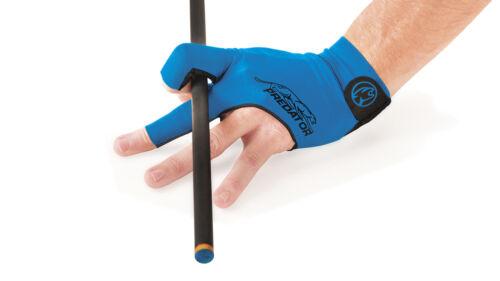 New Predator Second Skin BLUE - L/XL One size - LEFT Hand Pool Glove
