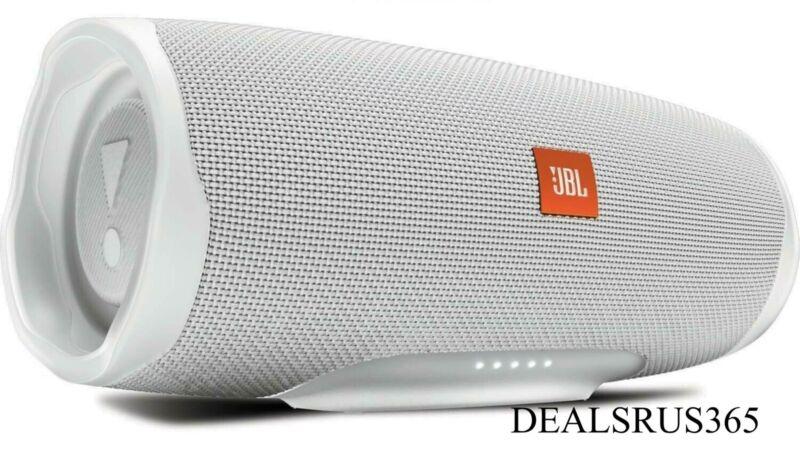 JBL Charge 4 Waterproof Portable Bluetooth Speaker- White