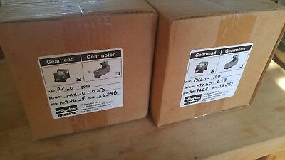 New Parker Bayside Px60-100 Planetary Gearhead Gearbox 1001 Ratio In-boxes