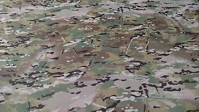 "Multicam Epsilon 1.55oz Ripstop Fabric 60""W Camo Water Repellent DWR Closeout"