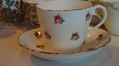 Adderley Bone China Tea Cup & Saucer Made in England