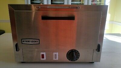 New Stainless Steel Steri-dent Model 200 Fda Dry Heat Sterilizer 8375 201000-sd